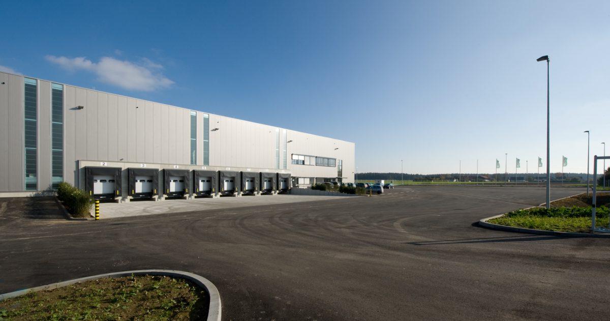 Logistik Hochbau