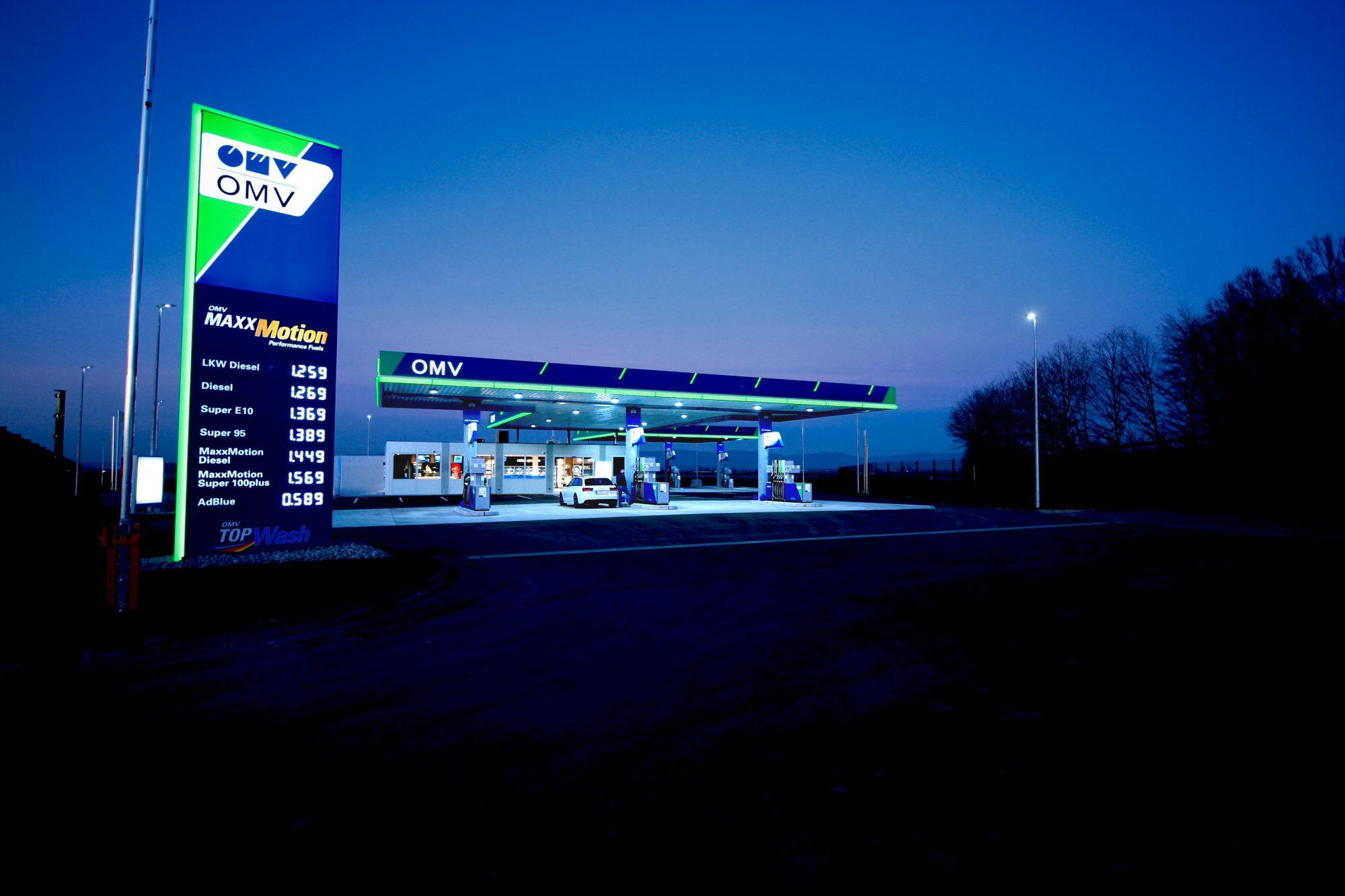 OMV Tankstelle Bayern